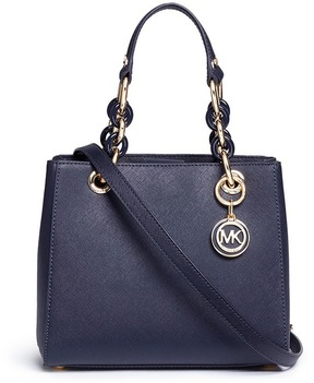 Michael Kors 'Cynthia North South' small leather satchel - ONE COLOR - STYLE