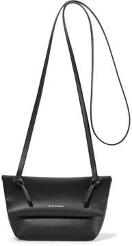 Acne Studios Crossbody Mini Leather Shoulder Bag - Black