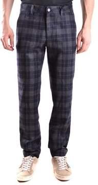 Peuterey Men's Multicolor Wool Pants.