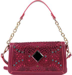 Nicole Lee Sophia Gemstone Burst Bowler Bag (Women's)