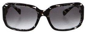 Diane von Furstenberg Marbled Gradient Sunglasses