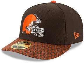 New Era Cleveland Browns Sideline Low Profile 59FIFTY Fitted Cap