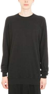 Drkshdw Black Wool Sweatshirt