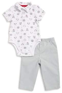 Little Me Baby Boy's Two-Piece Bodysuit and Pants Set