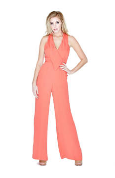 GUESS Kaidy Draped Jumpsuit