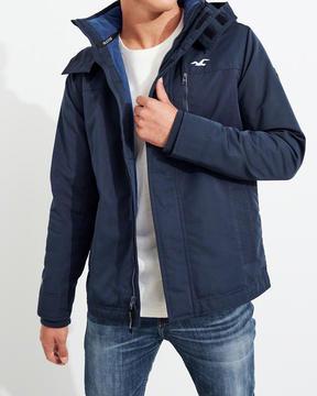 Hollister All-Weather Fleece-Lined Jacket