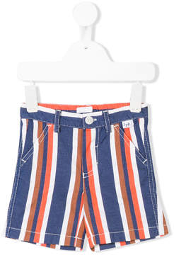 Il Gufo pinstriped shorts