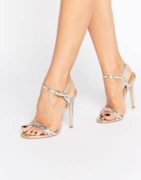 Public Desire Annabelle Twist Heeled Sandals