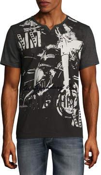 i jeans by Buffalo Short Sleeve Crew Neck T-Shirt
