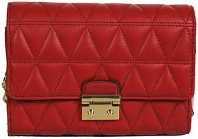 Michael Kors Quilted Shoulder Bag - RED - STYLE