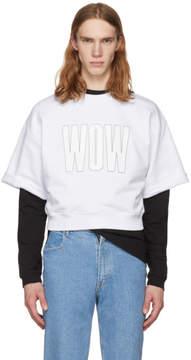 MSGM White Wow T-Shirt