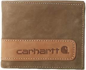 Carhartt Two-Tone Billfold Wallet with Wing Wallet Handbags
