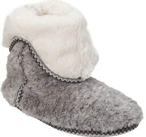 Dearfoams Pile Foldown Bootie Slipper (Women's)