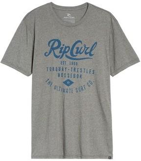 Rip Curl Men's Era Mock Twist Logo Graphic T-Shirt