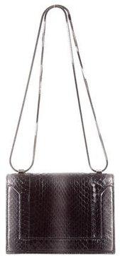 3.1 Phillip Lim Snakeskin Soleil Mini Chain Bag