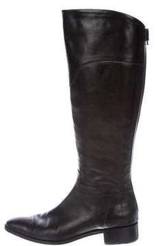 Neiman Marcus Leather Knee-High Boots