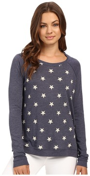 Alternative Printed Locker Room Pullover Women's Long Sleeve Pullover