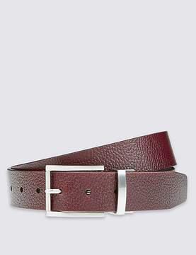 Marks and Spencer Leather Grain Block Reversible Belt
