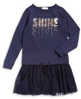 Jessica Simpson Girl's Star Sweater Dress