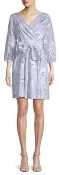 Alexia Admor Floral Wrap Dress