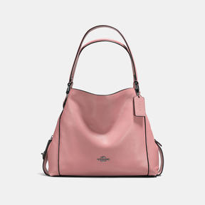 COACH Coach Edie Shoulder Bag 31 - DARK GUNMETAL/DUSTY ROSE - STYLE