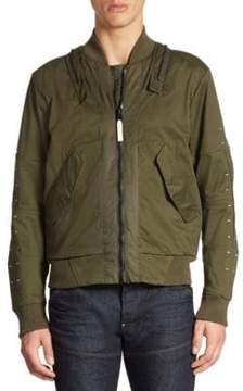 G Star Cotton-Blend Bomber Jacket