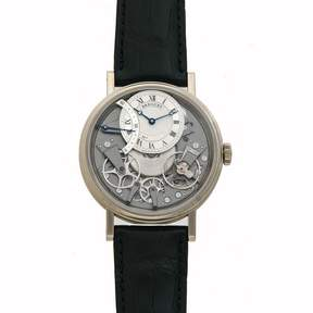 Breguet Tradition Automatic Men's 18 Carat White Gold Watch