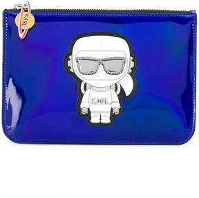 Karl Lagerfeld K/Space pouch