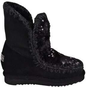 Mou Inner Wedge Short Eskimo Boots