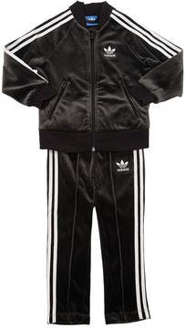 adidas 3 Stripes Sweatshirt & Sweatpants