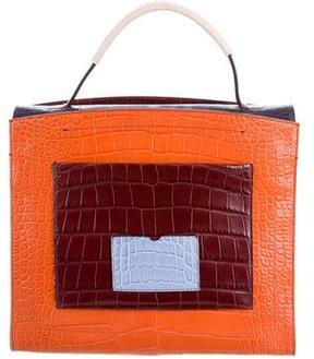 Reed Krakoff Alligator Top Handle Bag
