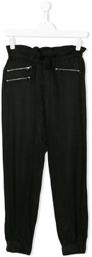 Karl Lagerfeld Teen tapered leg casual trousers