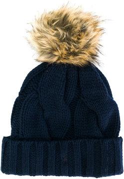 Polo Ralph Lauren pom pom beanie hat