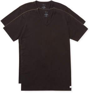 Calvin Klein Underwear Men's Short Sleeve V-Neck T-Shirt (2 PK)