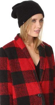 Plush Ribbed Fleece Lined Beanie