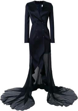 Esteban Cortazar tuxedo gown