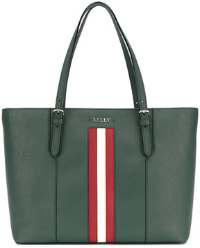 Bally stripe detail tote