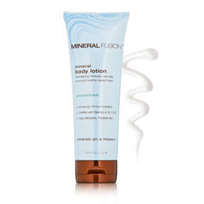 Mineral Fusion Unscented Mineral Body Lotion