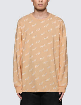 HUF Bolt All-over L/S T-Shirt