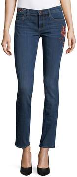 Driftwood Women's Audrey Floral Embroidered Jeans