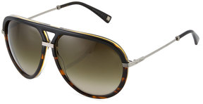 Christian Dior Aviator Plastic/Metal Sunglasses