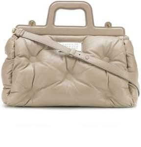 Maison Margiela quilted logo shoulder bag