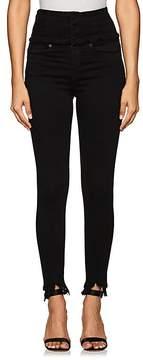 Blank NYC Blanknyc Women's Lace-Up-Back Skinny Jeans