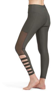 ABS by Allen Schwartz Olive Lattice Cutout Leggings - Women