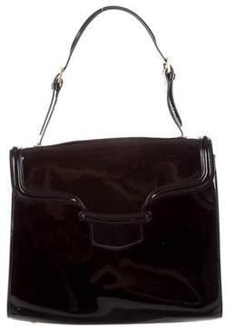 Alexander McQueen Patent Leather Shoulder Bag