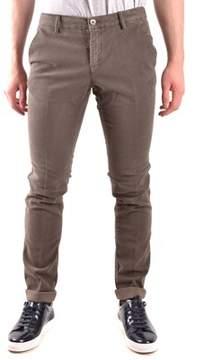 Mason Men's Brown Cotton Pants.