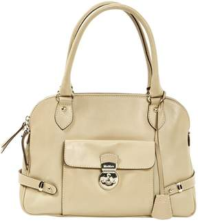 Max Mara Beige Leather Handbag
