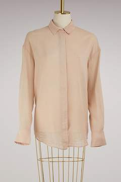 Forte Forte Oversized silk and cotton shirt