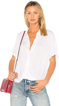 BCBGeneration Wrap Hem Dolman Shirt