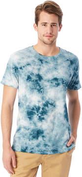 Alternative Apparel Heritage Distressed Tie Dye Garment Dyed T-Shirt